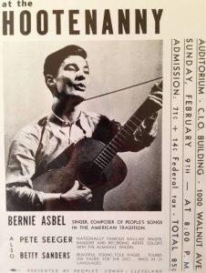 BernieAsbel&Seeger_Hootennany poster